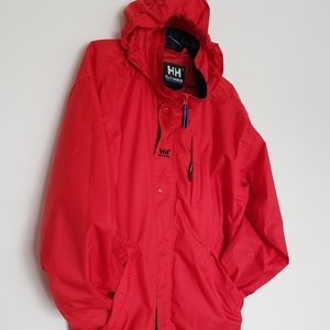 Helly Hansen packable windbreaker big M
